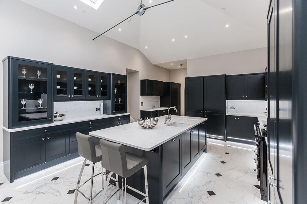 Change of Style new kitchen bianco carrera