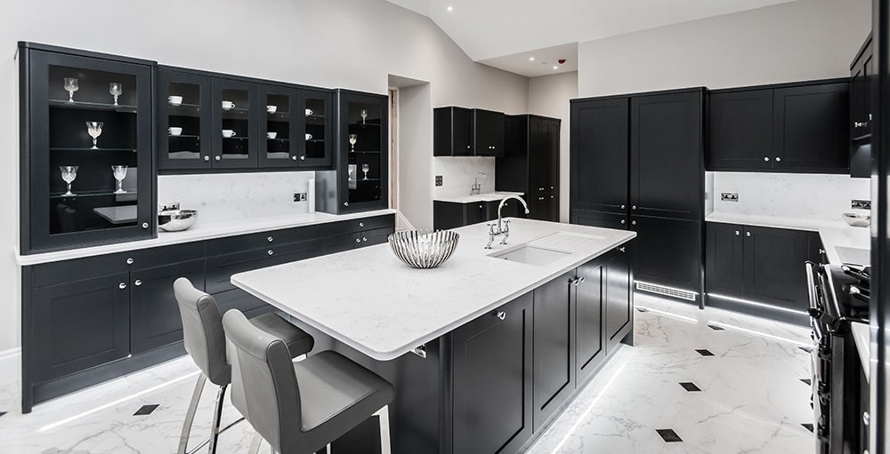 Change of Style designed kitchen bianco carrera