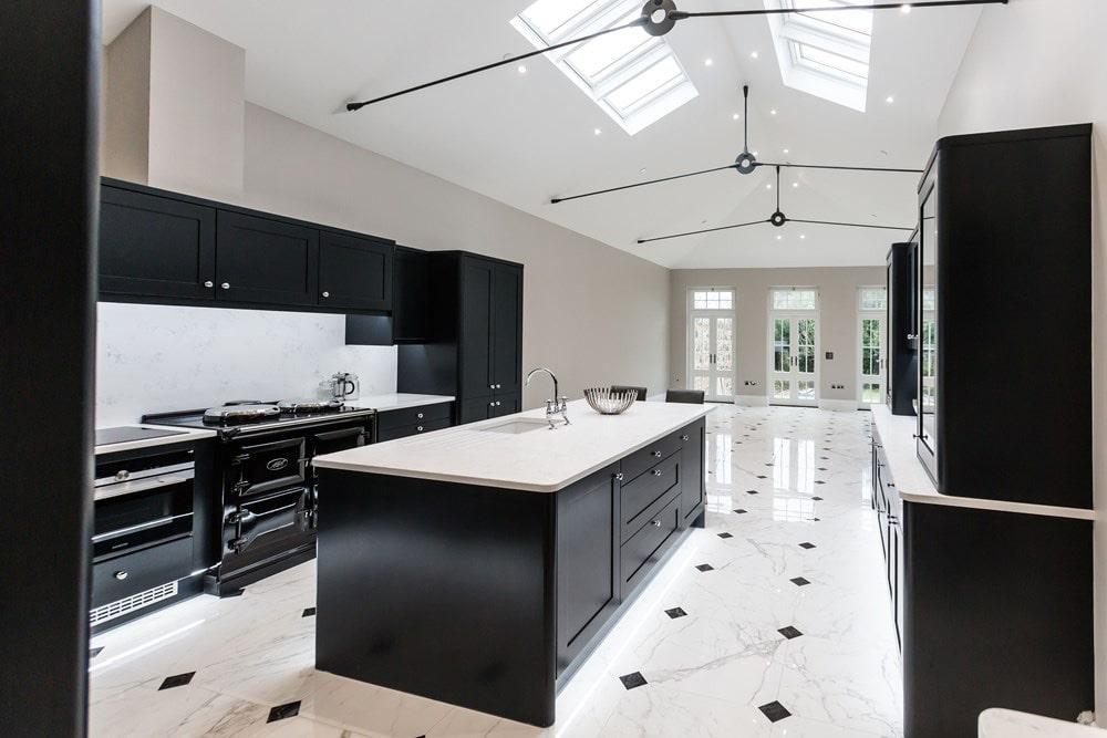 Change of Style large kitchen