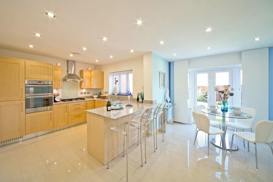 Change of Style taylor wimpey greenacr