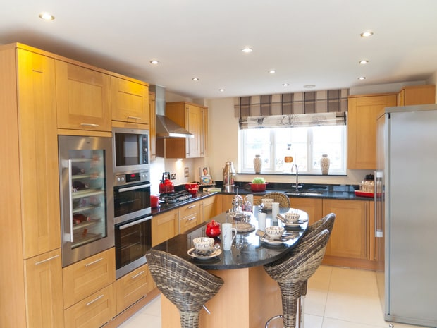 Change of Style taylor wimpey show home