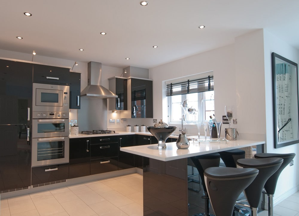 taylor wimpey show home Change of Style