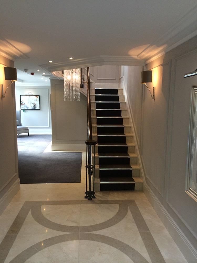 Change of Style hallway