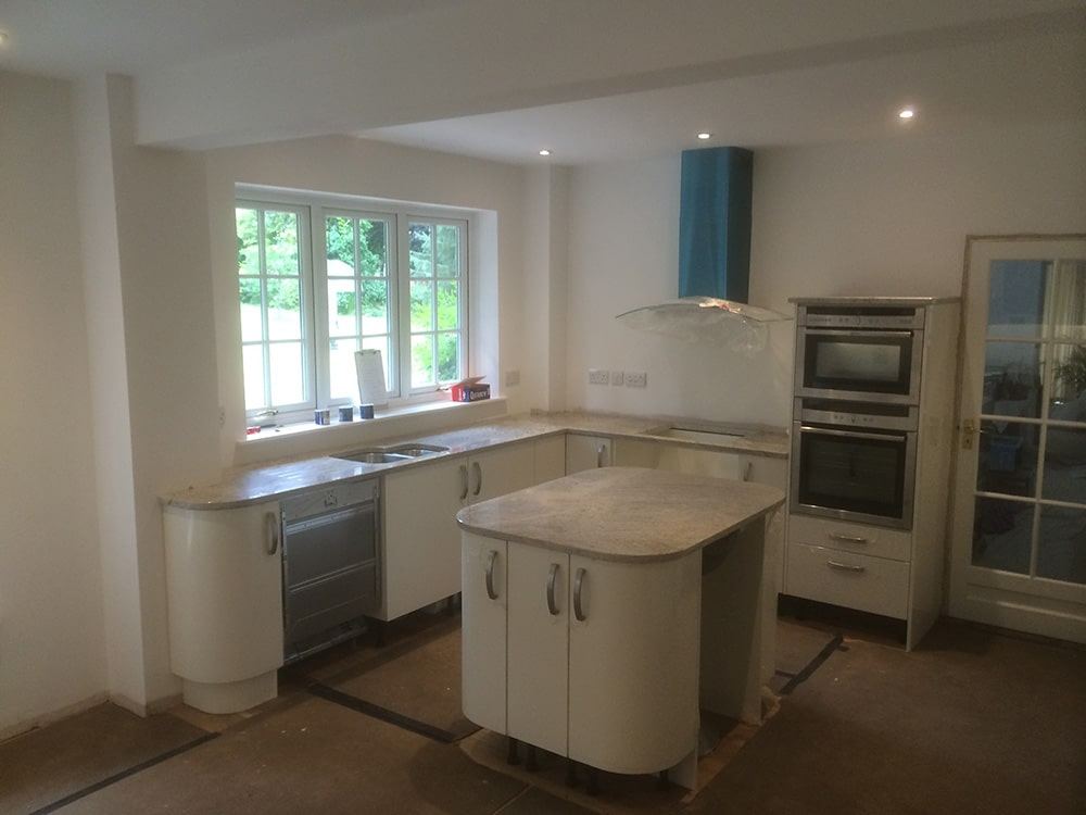Change of Style kitchen in mid fit