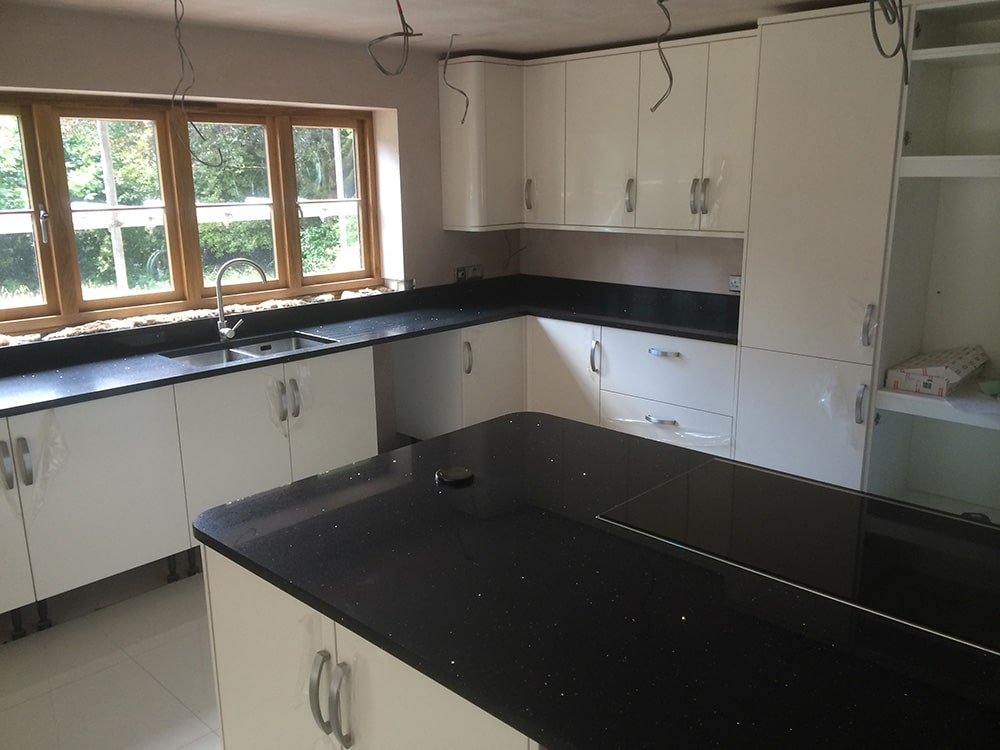Change of Style kitchen installed